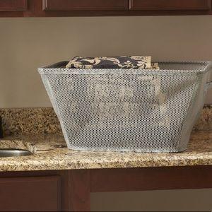 NWT Eva fold up mesh laundry storage basket